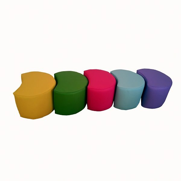 moon kids softplay half moon seats