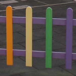 moon kids wooden fencing picket fencing