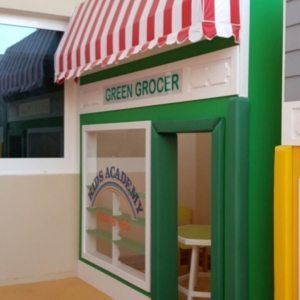 moon kids play time playhouse green grocer