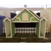 Playhouse Picket Fence 3