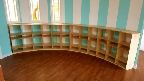 moon kids furniture curved shallow cubbies