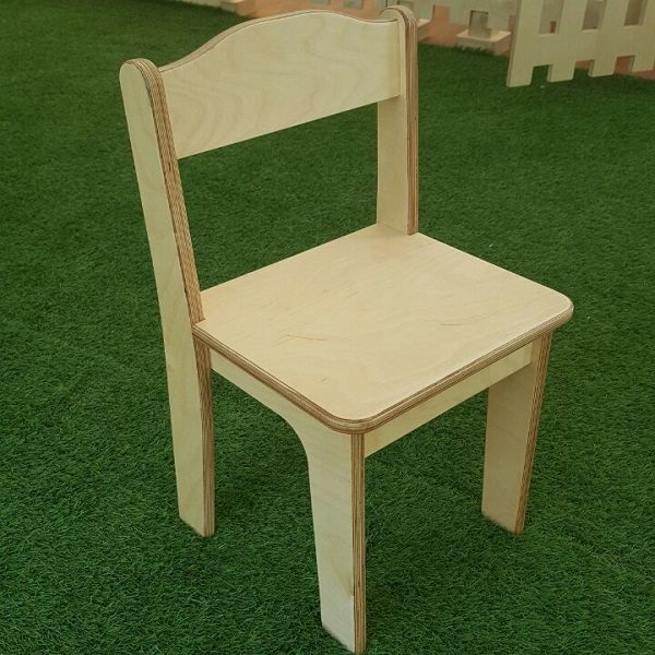 moon kids furniture simple wooden chair