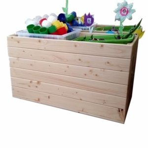 moon kids furniture wooden storage box