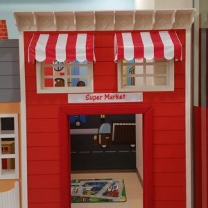 moon kids play time playhouse supermarket
