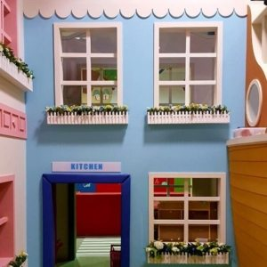 moon kids play time two storey kitchen play house
