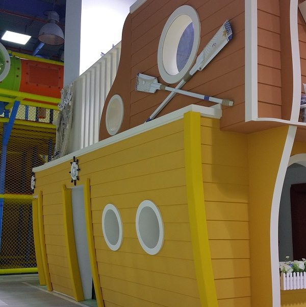 Moon Kids Playhouse Wooden Boat
