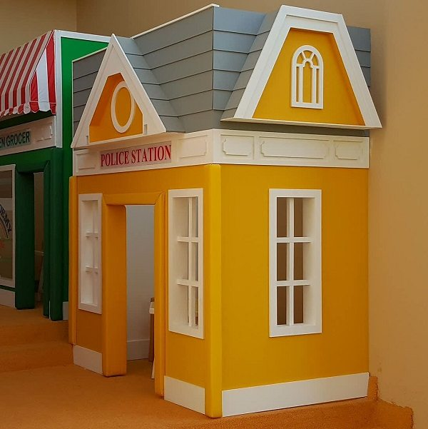 Moon Kids Playhouse Police Station