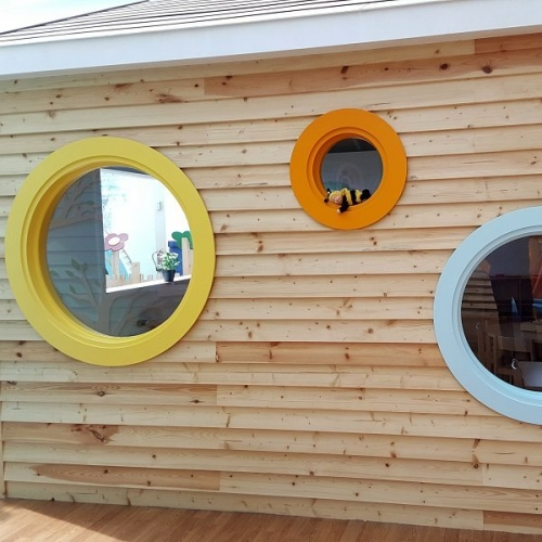 moon kids bespoke round window
