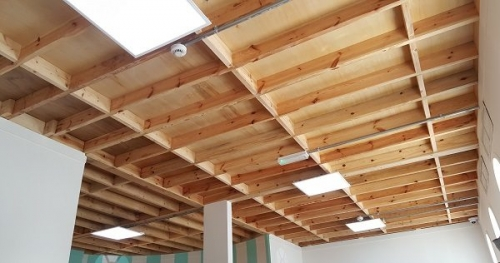 moon kids bespoke timber joist ceiling 1