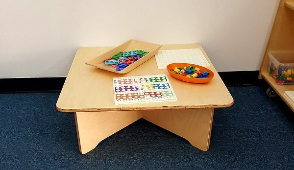 moon kids furniture activity play table