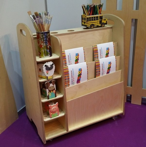 moon kids furniture arts and crafts trolley