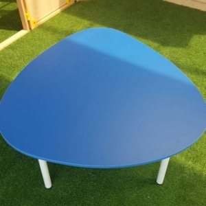 moon kids furniture egg shaped table