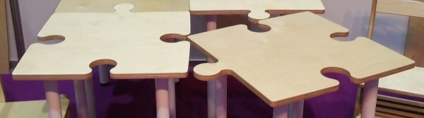 ... Moon Kids Furniture Jigsaw Puzzle Table 3