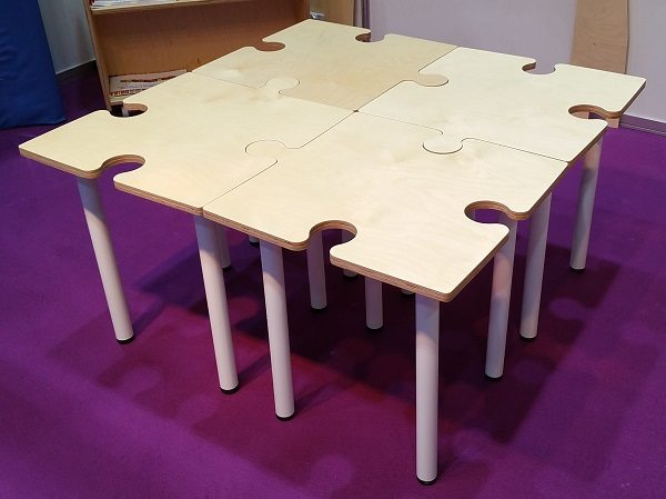 ... Moon Kids Furniture Jigsaw Puzzle Table 5 ...