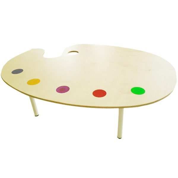 moon kids furniture large art pallete table