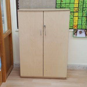 moon kids furniture lockable cabinet