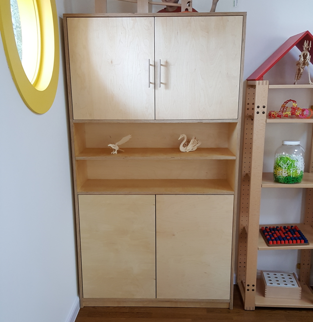 moon kids furniture open and closed shelf storage