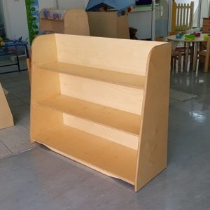 moon kids furniture shelving unit plain back