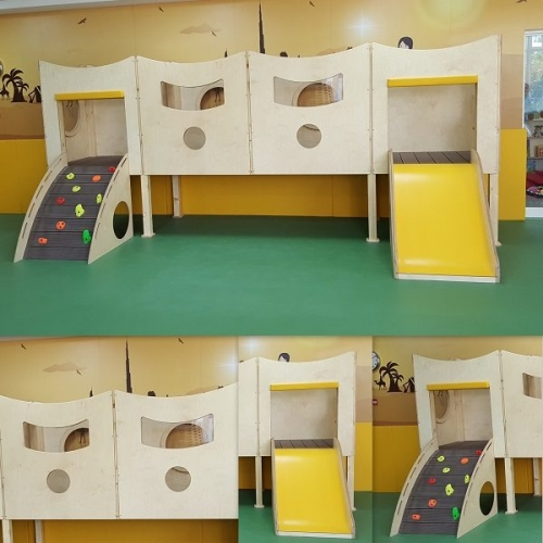 moon kids play time desert climbing frame