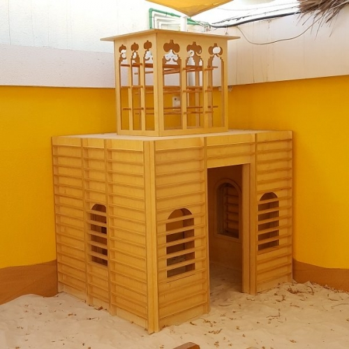 moon kids playhouse wind tower