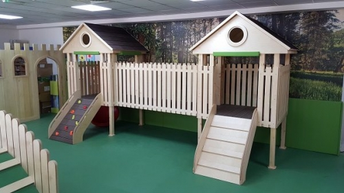 Moon Kids Tree House Adventure Climbing Frame