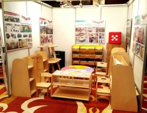 Moon Kids Exhibition at Future Education Spaces MENA 2016