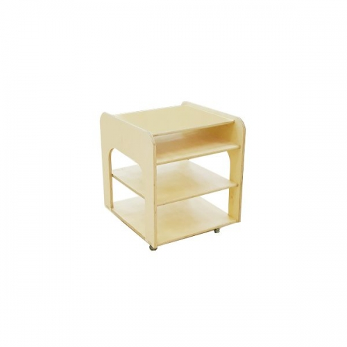 moon kids furniture small mobile shelving unit