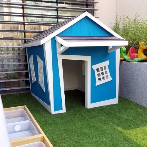 moon kids playhouse crooked barn play house