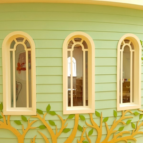 moon kids bespoke arch window