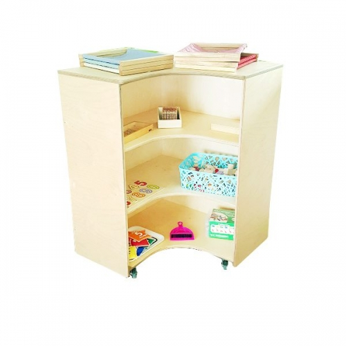 moon kids furniture mobile-corner connecting unit with wheels