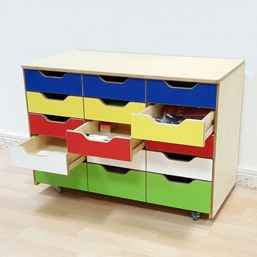 moon kids furniture mobile storage unit with drawers