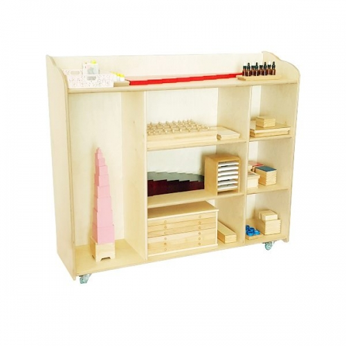 moon kids furniture montessori large shelving unit