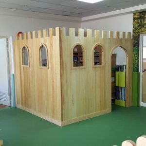 moon kids playhouse wooden castle