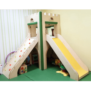 moon kids play time wooden castle tower type b