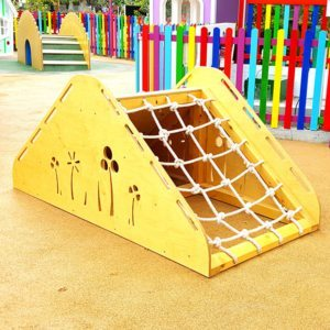 moon kids playtime roap ramp climbing wall