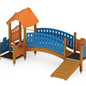 Quadro toddler  bridge