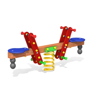 Seesaw on Springs