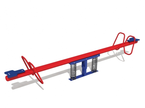 Metal Seesaw on Springs