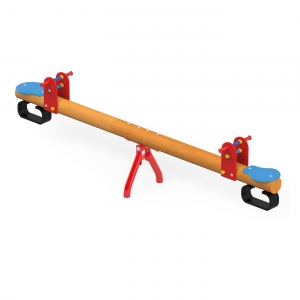 Seesaw on metal Base