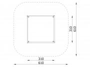 Log Sandbox 3x3m 10