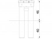 Stationary Log Bench 6
