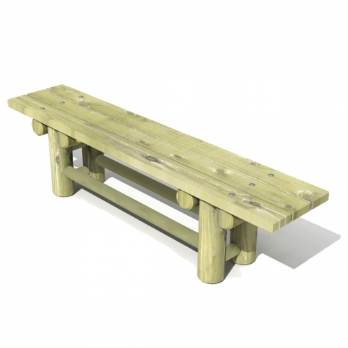 Mobile Log Bench