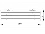 Stationary Log Bench with Backrest 7