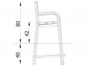 Stationary Bench E01 6