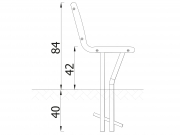 Stationary Bench S01 6