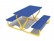 Mikrus Table & Bench 2