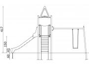 Slide and Swing Set 5