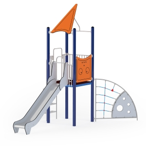 Slide with Spider Climber