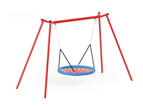 Metal Swing with Bridnest