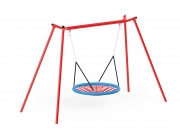 Metal Swing with Bridnest 2